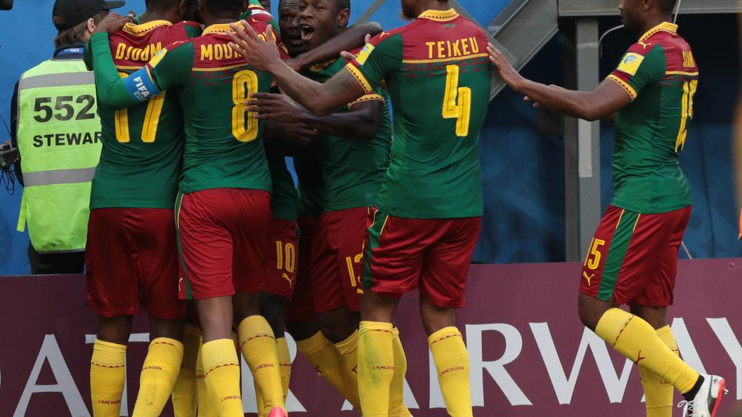 Игрок сборной Камеруна дал интервью нарусском языке
