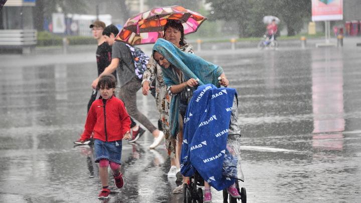 Сильные дожди и ветер: в Челябинской области продлили неблагоприятный прогноз