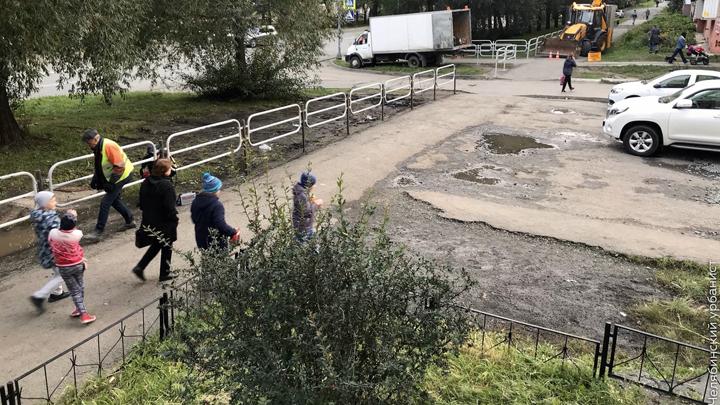 В Челябинске вопреки мнению губернатора Текслера продолжают ставить заборы
