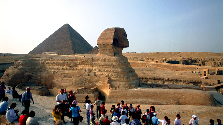 В Египте найдены гигантские иероглифы высотой в полметра