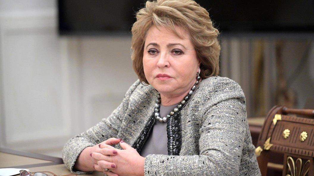 Матвиенко обещала снова изменить закон о реновации в случае необходимости