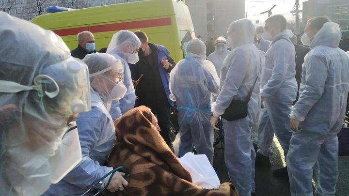 Власти Челябинска опровергли слухи о гибели пациентов после взрыва