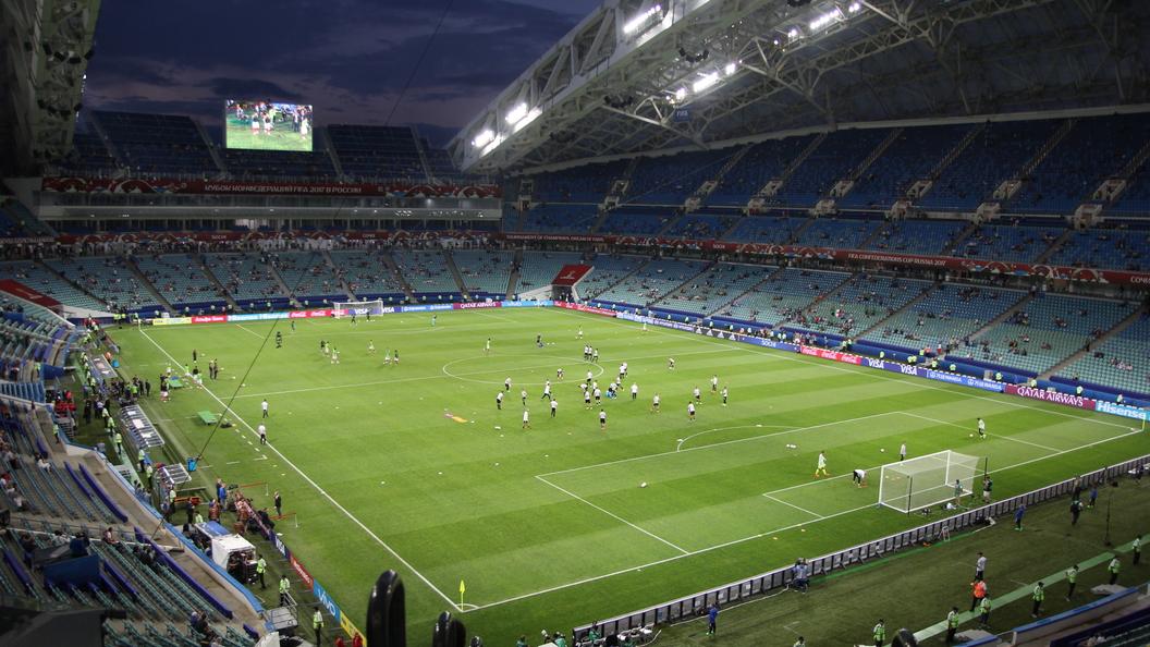 Кубок конфедераций. 1/2 финала. Германия - Мексика - онлайн-трансляция