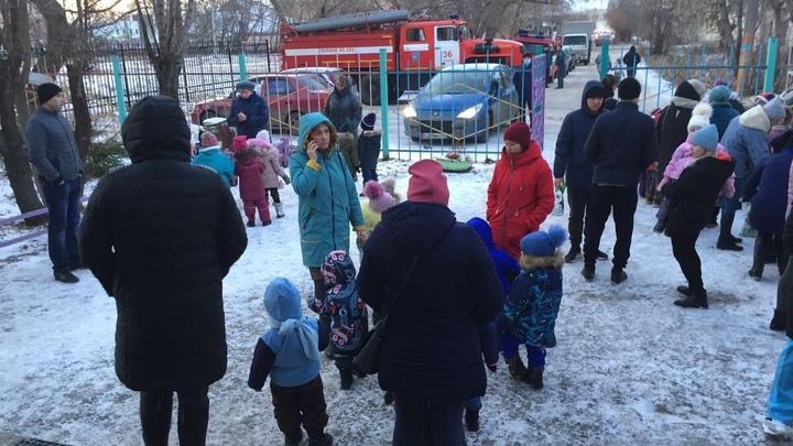 В Копейске эвакуировали более полусотни малышей из детского сада
