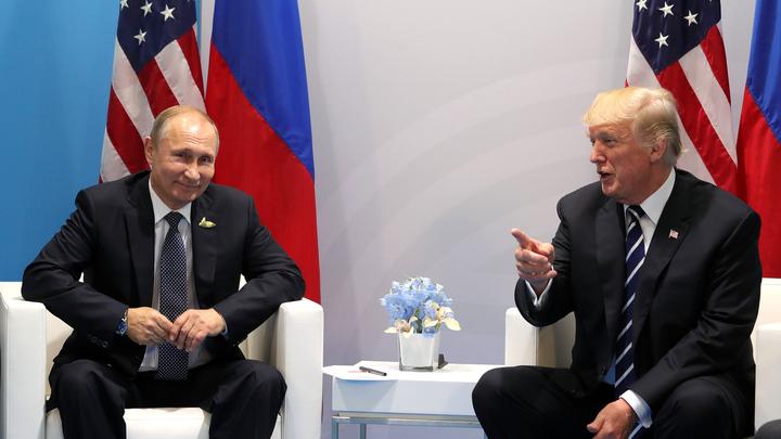 Путин надеется на развитие диалога с Трампом