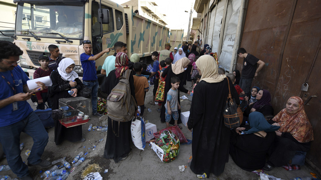 Курды сообщили о смерти 40 000 мирных граждан при взятии Мосула