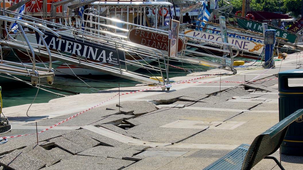 В итальянском Аматриче вновь произошло землетрясение
