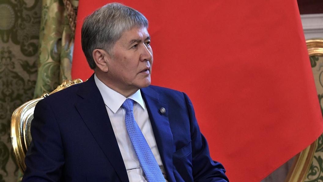 Атамбаев рассказал опричинах ликвидации базы США вКиргизии