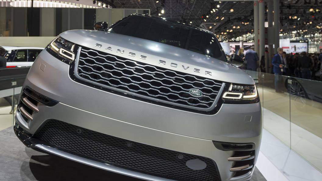 Новый Range Rover Velar получит встроенные сервисы Яндекса