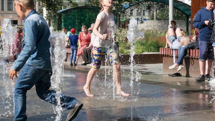 В Москве побит годовой рекорд жары