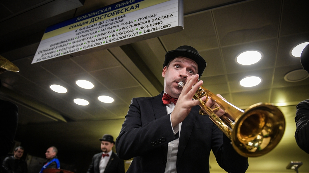 Для музыкантов открыли новые площадки в метро