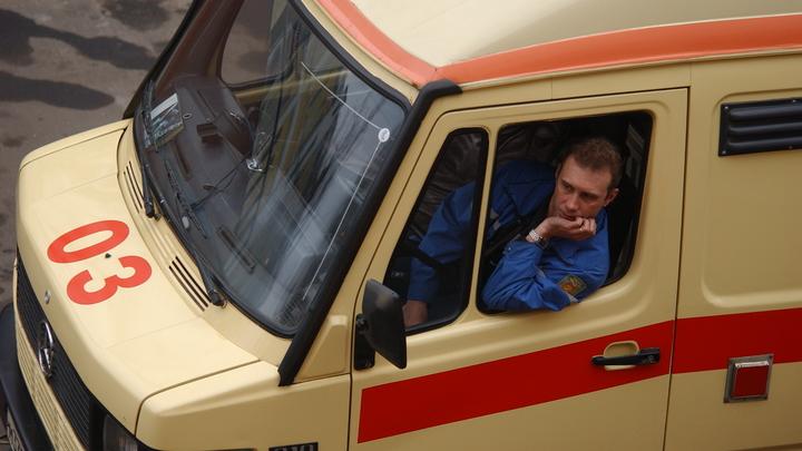 В Москве столкнулись рейсовые автобусы: два человека пострадали