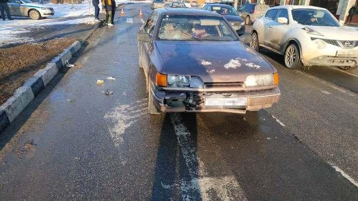 В Тбилисском районе в аварии пострадали три человека, среди них двое детей
