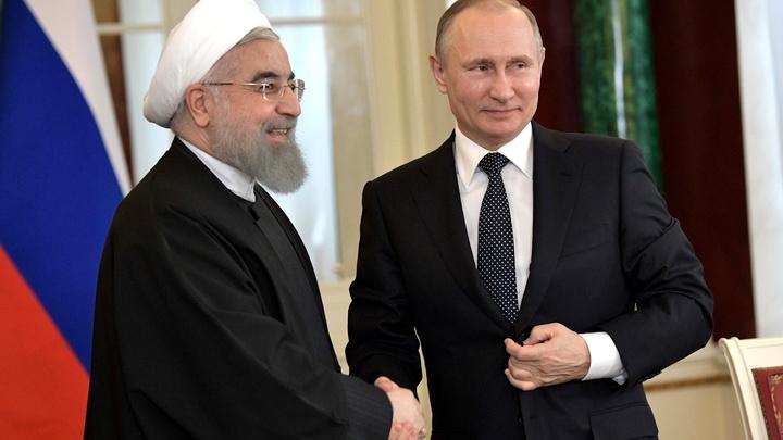 Путин и Роухани обсудили ситуацию вокруг иранской ядерной программы