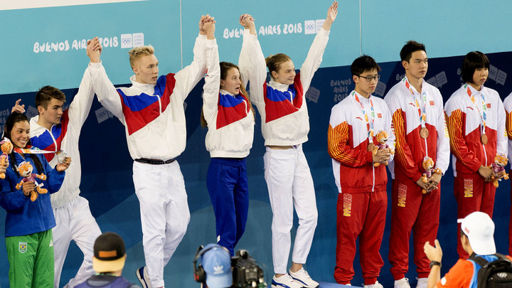 Поколение чемпионов. Россия выиграла IV Юношеские Олимпийские игры