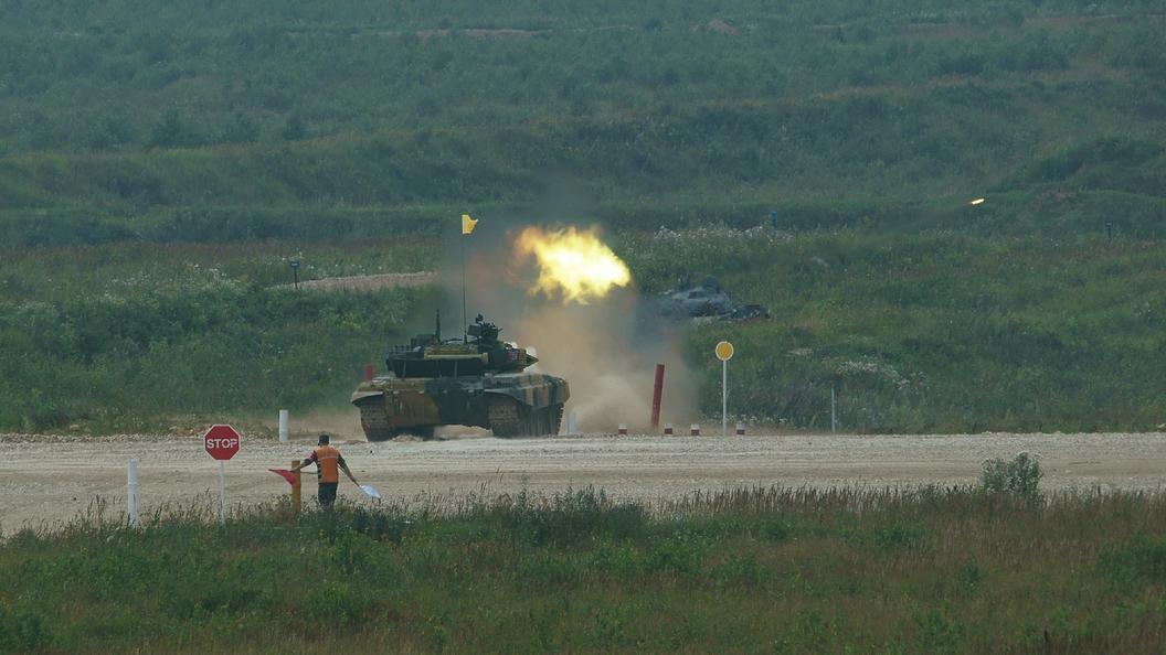 Российские танкисты установили рекорд на АрМИ-2017