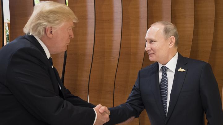 Трамп пообещал в подходящее время пригласить Путина в Белый дом