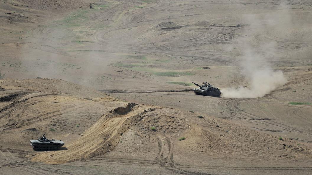 Американские танки вошли в Грузию