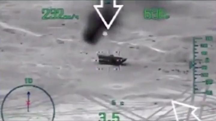 Мины летели одна за одной: Уникальное видео первых минут нападения на российских военных в Сирии