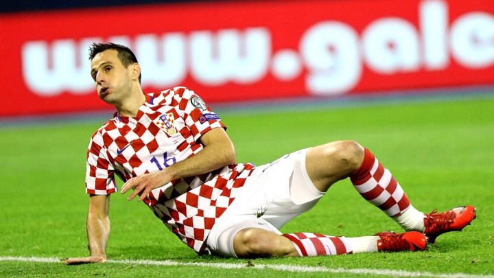 Футболист сборной Хорватии Калинич отказался отсеребряной медалиЧМ