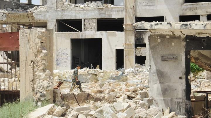 Российский центр в Дамаске обстреляли боевики из Восточной Гуты, ранены 9 мирных жителей
