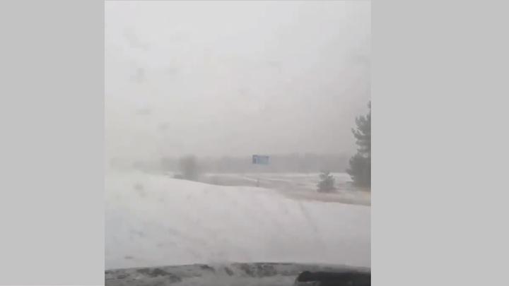 Снегопад накрыл север донского региона. На очереди - Ростов