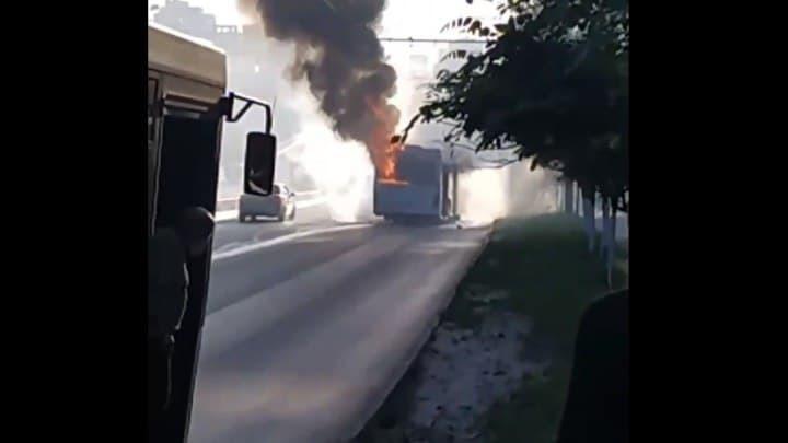 Власти Ростова назвали причину пожаров в ростовских автобусах: Контрафактные детали