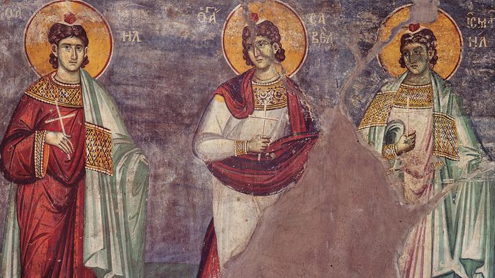 Христолюбивые воины. Мученики Мануил, Савел и Исмаил. Церковный календарь на 30 июня