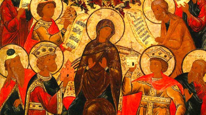 Похвала Пресвятой Богородицы. Православный календарь на 13 апреля