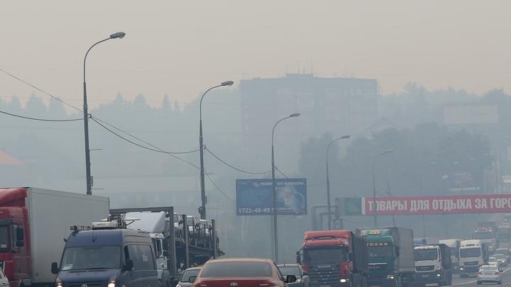 Не дым, а туман: ГИБДД перекрыла дорогу в Екатеринбурге из-за горящих торфяников