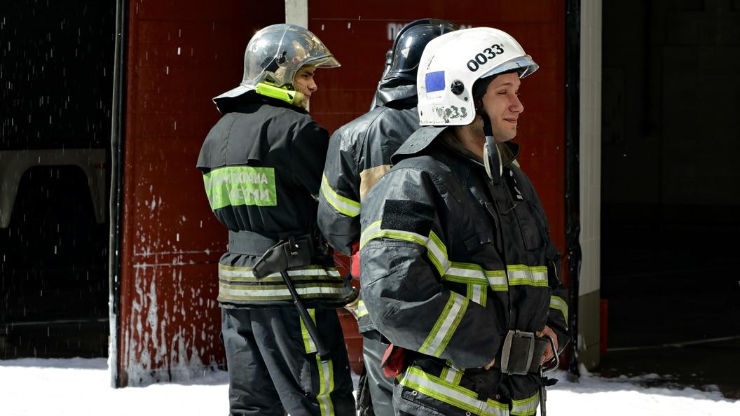 В Новой Москве локализован пожар в частных домах