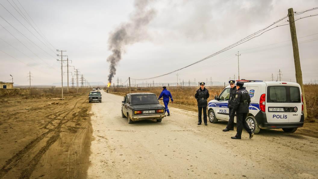 Шесть человек пострадали в результате ЧП в воинской части в Азербайджане