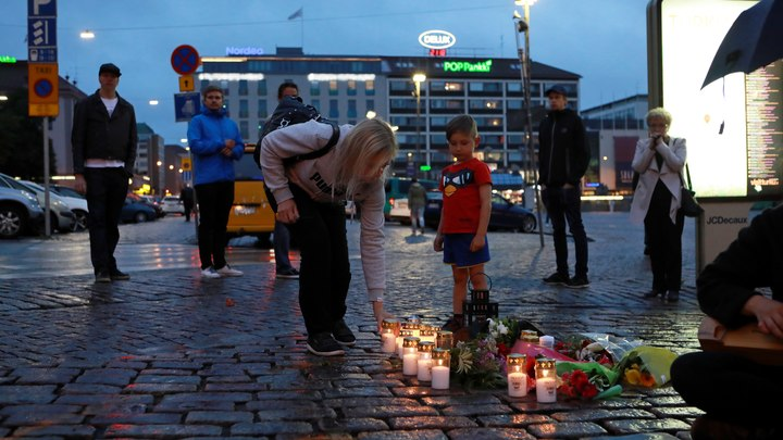 В Финляндии после нападения в Турку задержаны пять человек