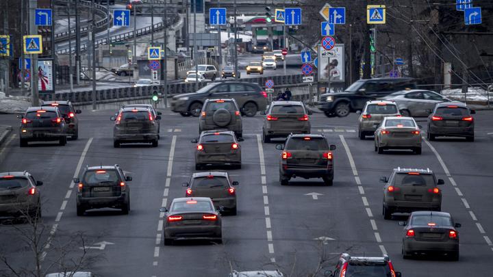 В Москве составили список самых опасных улиц для нарушителей ПДД