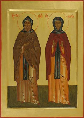 Преподобные Кирилл и Мария Радонежские
