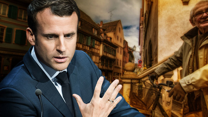 Французский политолог: Макрон вводит систему рабовладения