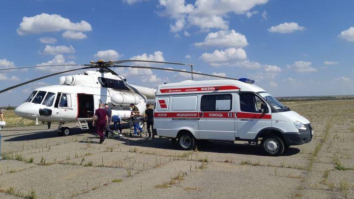 Ростовская область получила санитарный вертолёт впервые с 1998 года