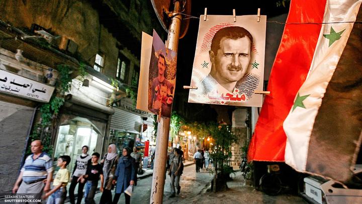 В Сирии прогремел фейерверк в честь России