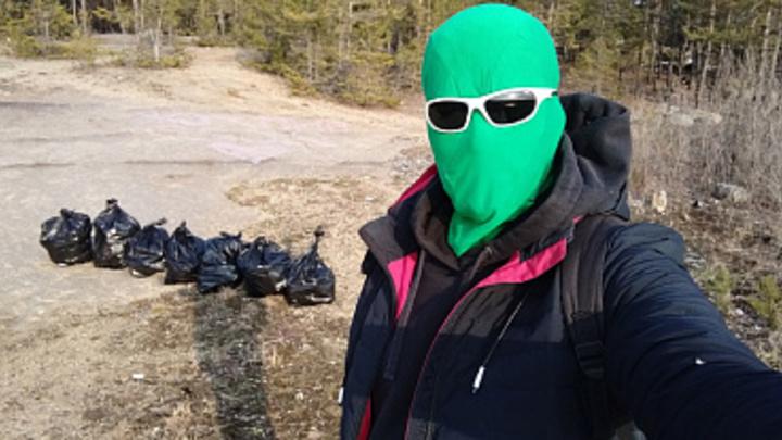 Челябинский Чистомэн ответил, почему он убирает мусор