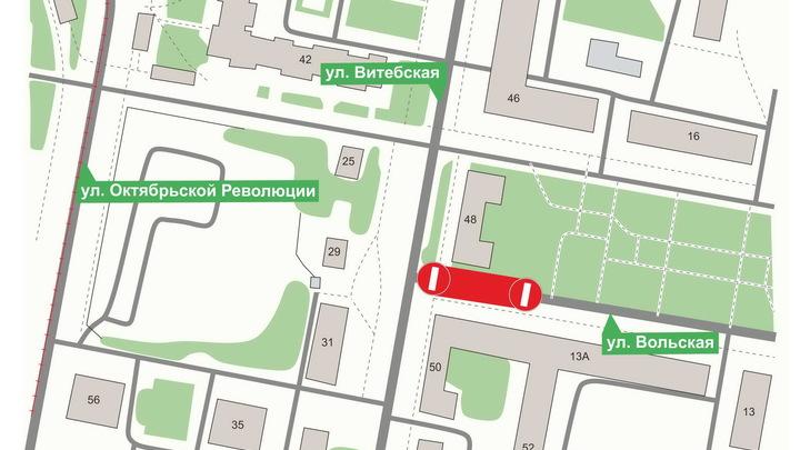 В Нижнем Новгороде ограничат движение на улицах Головнина и Вольской