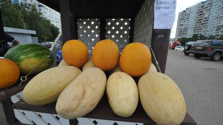 Петербуржцев оставили без десерта: В городе прошла облава на арбузы