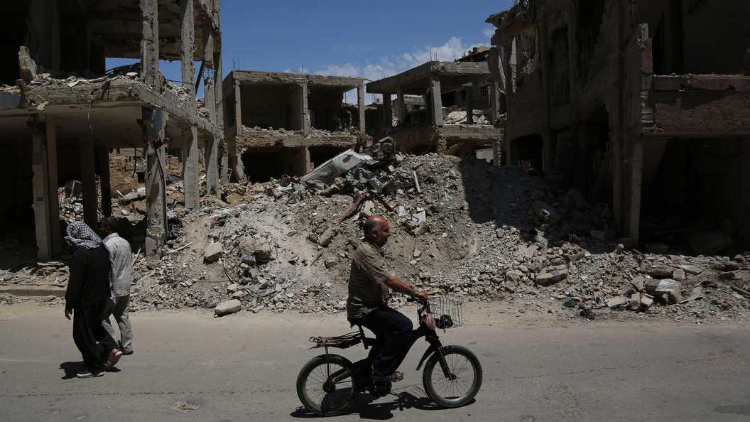 Международная коалиция обстреляла в Сирии мирных жителей