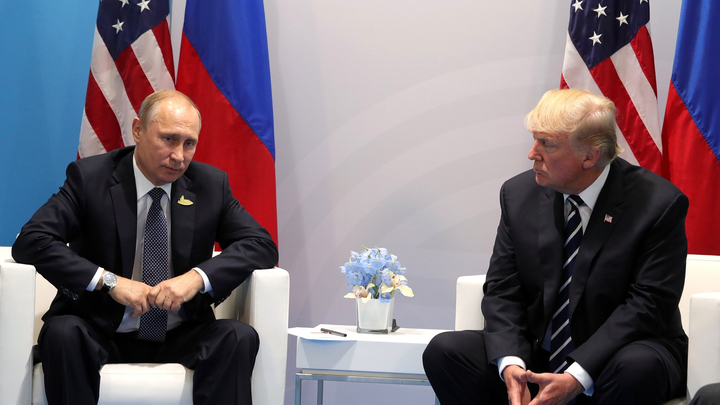 В тайной встрече Путина и Трампа участвовали 40 человек