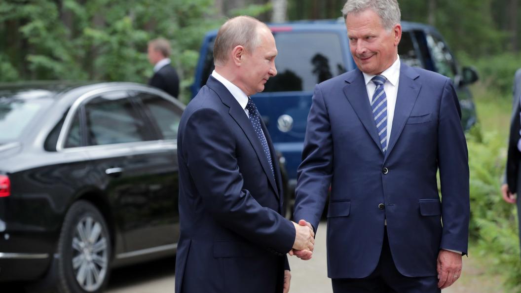 Президент Финляндии назвал Россию хорошим соседом