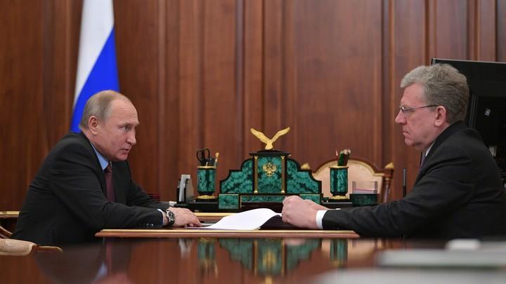 Споры с правительством - это нормально: Путин одобрил естественный процесс на встрече с Кудриным
