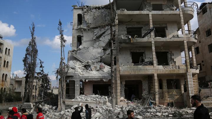 Сюжетом новой инсценировки химатаки в Сирии стала гибель целой семьи