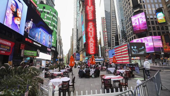 США превращаются в Россию 90-х: Каждый шестой житель Нью-Йорка не может позволить себе еду