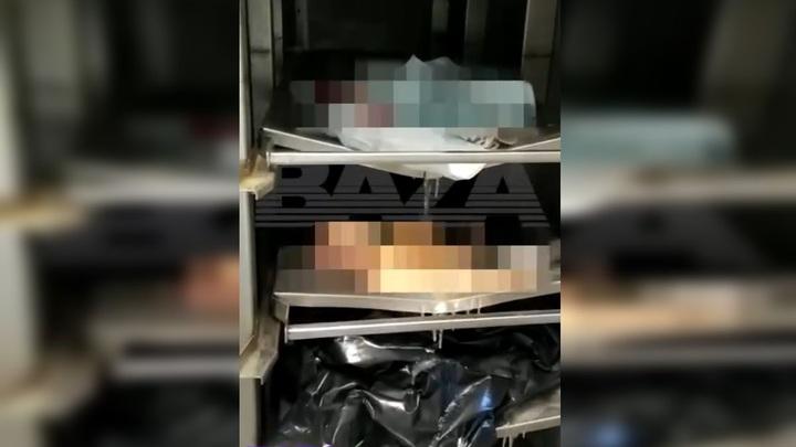 В закрытом на ремонт морге в Люберцах забыли тела детей