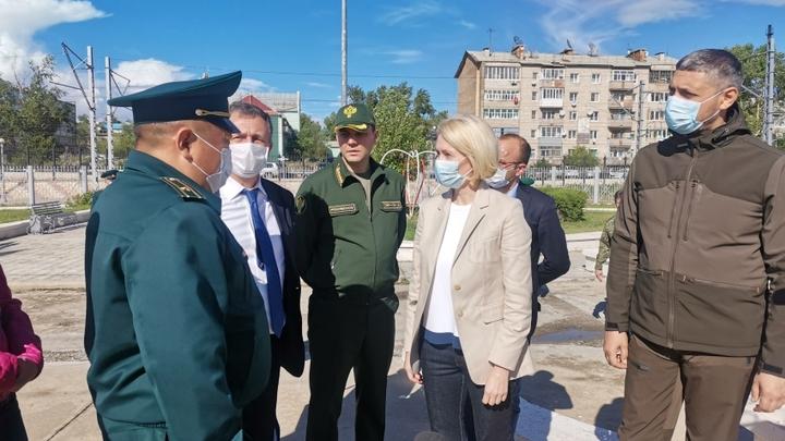 Вице-премьер правительства России Виктория Абрамченко прибыла в Забайкалье