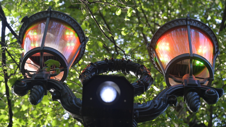 Центральный парк Кургана осветят за 14 млн рублей